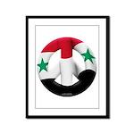 Syria Framed Panel Print