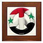 Syria Framed Tile