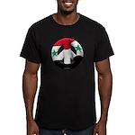 Syria Men's Fitted T-Shirt (dark)
