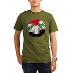 Syria Organic Men's T-Shirt (dark)