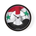 Syria Wall Clock