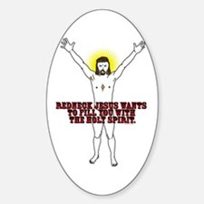 Holy Spirit Oval Decal