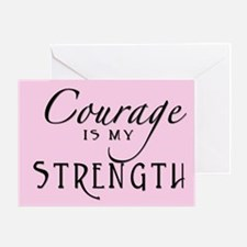 Team courage Greeting Card
