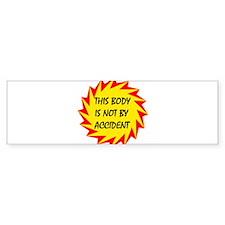 I PLANNED IT! - Bumper Bumper Sticker