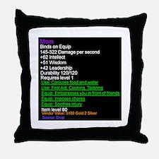 Funny Epic Throw Pillow