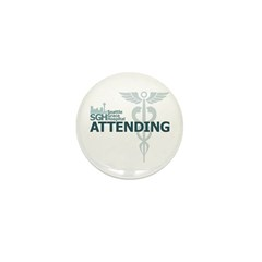 Seattle Grace Attending Mini Button (100 pack)