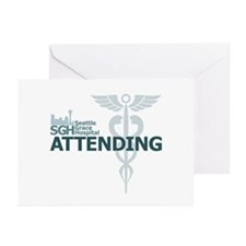 Seattle Grace Attending Greeting Cards (Pk of 10)