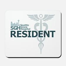 Seattle Grace Resident Mousepad