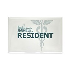Seattle Grace Resident Rectangle Magnet