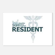 Seattle Grace Resident Postcards (Package of 8)