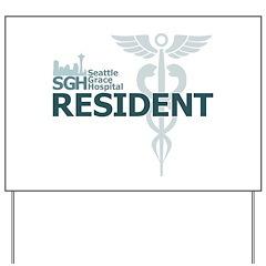 Seattle Grace Resident Yard Sign