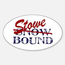Stowe Bound Oval Decal