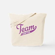 Team Sawyer Tote Bag