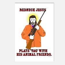 Redneck Jesus - Hunter Postcards (Package of 8)