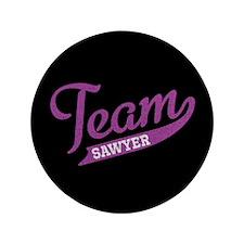 """Team Sawyer 3.5"""" Button"""