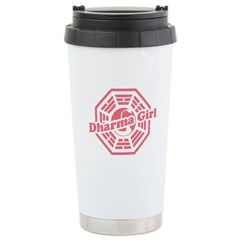 LOST Dharma Girl Stainless Steel Travel Mug