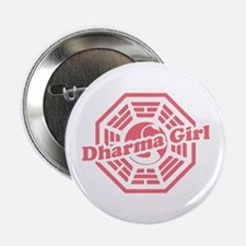 """LOST Dharma Girl 2.25"""" Button"""