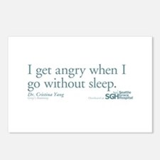 I get tired... - Grey's Anatomy Postcards (Package