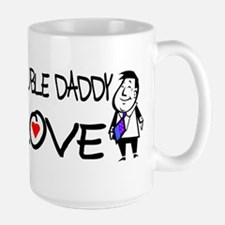 Double Daddy Love Mug