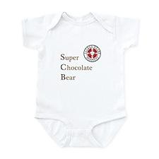 SCB Super Chocolate Bear Infant Bodysuit
