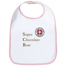 SCB Super Chocolate Bear Bib
