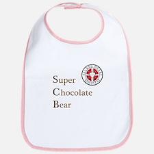 SCB Super Chocolate Bear Bib