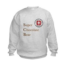 SCB Super Chocolate Bear Sweatshirt