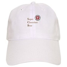 SCB Super Chocolate Bear Baseball Baseball Cap