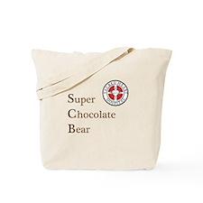 SCB Super Chocolate Bear Tote Bag