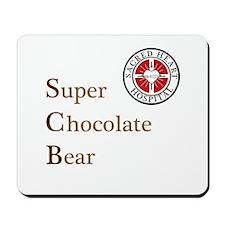 SCB Super Chocolate Bear Mousepad