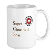 SCB Super Chocolate Bear Mug