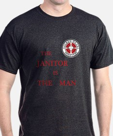 The Janitor is the Man T-Shirt