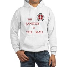 The Janitor is the Man Jumper Hoody