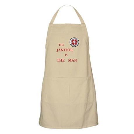 The Janitor is the Man Apron
