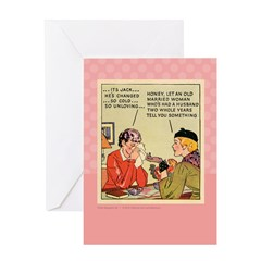 Boo Hoo BRIDE Greeting Card