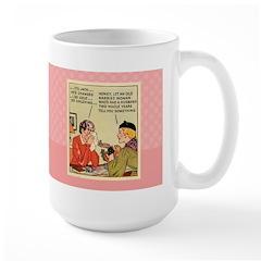 Boo Hoo BRIDE Large Mug