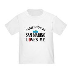 Somebody In San Marino T