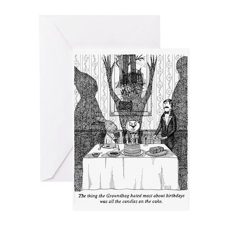 Groundhog's - Birthday Greeting Cards (Pk of 10)