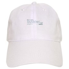 We're Adults - Grey's Anatomy Quote Baseball Cap