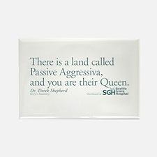 Passive Aggressiva - Grey's Anatomy Rectangle Magn