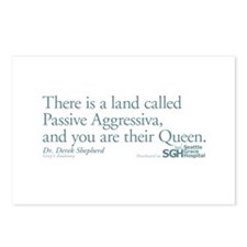 Passive Aggressiva - Grey's Anatomy Postcards (Pac