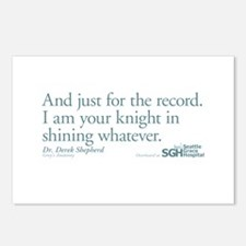 For the Record... - Grey's Anatomy Postcards (Pack