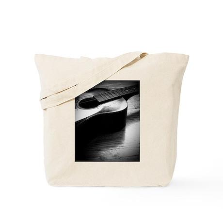Old Guitar (P) Tote Bag
