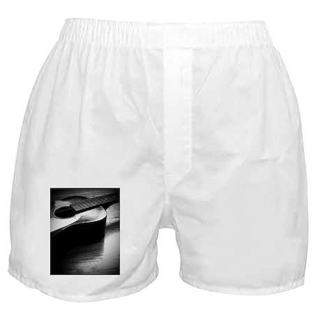 Old Guitar (P) Boxer Shorts