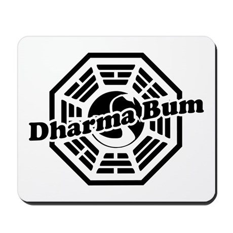 LOST Dharma Bum Mousepad