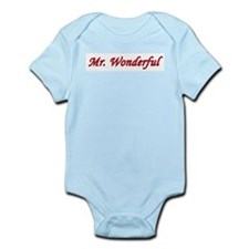 Mr. Wonderful Infant Creeper