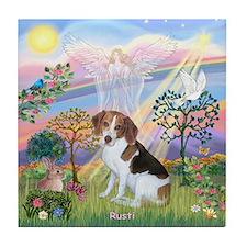 Cloud Angel 2 & Rusti Tile Coaster