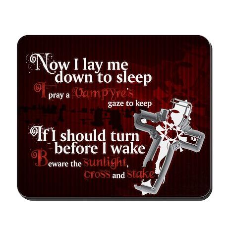 Vampyre Prayer Mousepad