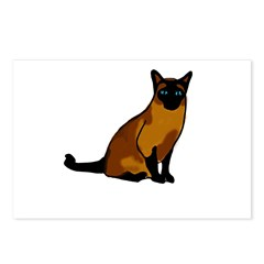 Siamese Cat1 Postcards (Package of 8)