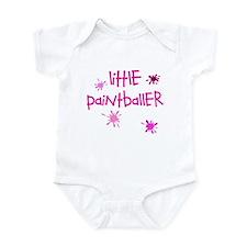 Little Paintballer Girl's Infant Bodysuit